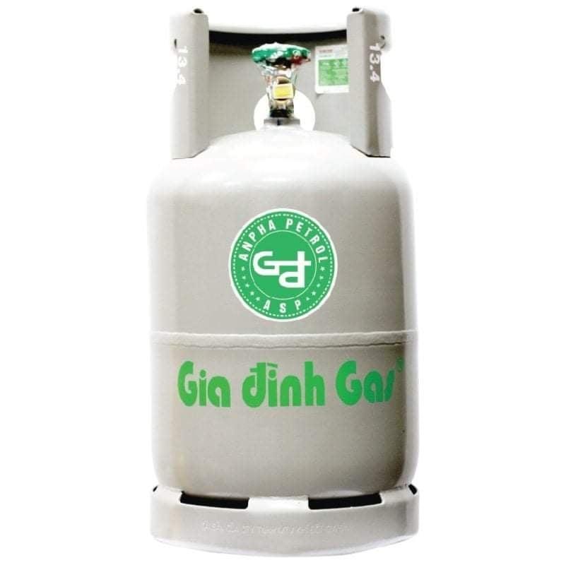 Bình Gas Gia Đình Vàng 12 kg