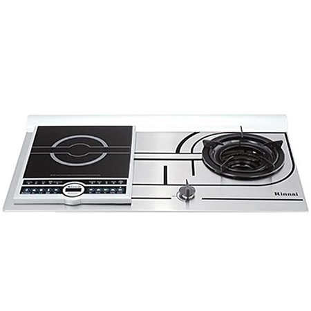 Rinnai RVB-COMB . Induction cooker gas stove